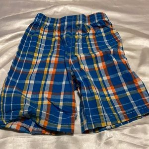 Healthtex Size 4T Plaid Boy Shorts.